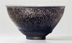 Lot 707.The Kuroda Family Yuteki Tenmoku. A highly important and very rare 'oil spot' Jian tea bowl, Southern Song dynasty...