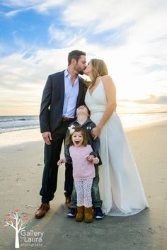 Elopment with Children Destination Beach Wedding The-Sanctuary-Elopement-photographer-Charleston-SC