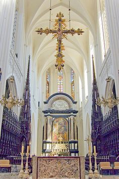Inside the Cathedral of Our Lady (Antwerp) aka Onze-Lieve-Vrouwekathedraal