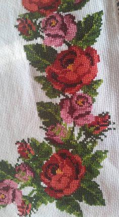 Cross Stitch Bird, Cross Stitch Animals, Cross Stitch Flowers, Cross Stitch Charts, Cross Stitch Designs, Cross Stitching, Cross Stitch Patterns, Embroidery Applique, Cross Stitch Embroidery