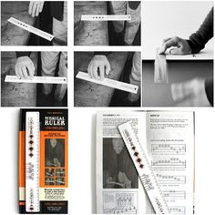 Rulers will never be boring again with the fantastic musical ruler. Available @tickytacky #Jordan  #Unique #Gifts #Stationary #Musician #Music #GiftForHim #GiftForHer #GCC #MENA #KSA #UAE
