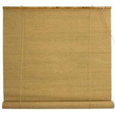 Woven Jute Roll Up Blinds 60 Inch Width 60 Inches Jute