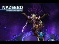 Heroes of the Storm Nazeebo Build Best Team XP Contribution #moba #game