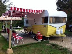 Vintage Camping | Vintage Camping Trailers U0026 Retro Hobby | This Is So Cute