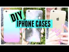 DIY phone case ideas you need to try! tumblr inspired! - YouTube