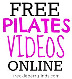 I just found my new workout obsession. Pilates and cardio workouts to current pop songs!