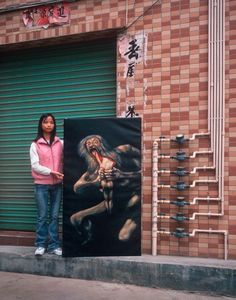 China produces 70 percent of copies of famous masterpieces for export to North America and Europe. The fastest copy artists chug out 30 paintings a day. In his series Real Fake Art, photographer Mi… Hong Kong, Michael Wolf, Wolf Photography, Wolf Painting, Francisco Goya, Francis Bacon, Photos, Pictures, Fotografia