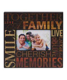 Espresso 'Family' Frame by Prinz #zulily #zulilyfinds