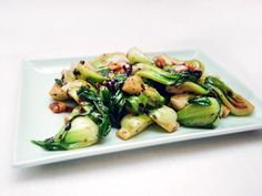 Shanghai Baby Bok Choy With Black Bean Sauce | Serious Eats : Recipes