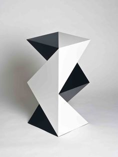 107 Best Geometric Sculptures Images Sculptures Geometric - One-hundred-triangles-stool