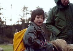 """5. Jonathan Ke Quan as """"Data,"""" with his bag full of tricks."""
