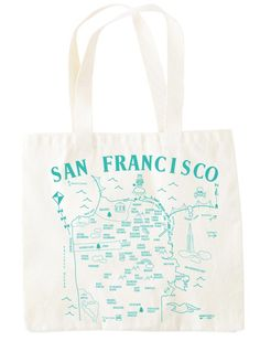 San Francisco Grocery Tote $17.00
