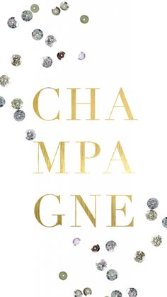 Gold Champagne celebration New year iphone phone wallpaper background lock screen