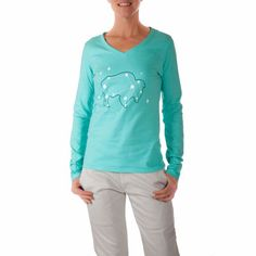 Women's Constellation Long Sleeve V-Neck T-Shirt #MountainKhakis #constellation #longsleevetshirt