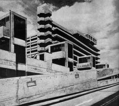 fuckyeahbrutalism:  Trinity Square Shopping Centre, Gateshead, Tyne and Wear, UK, 1967(Owen Luder Partnership)