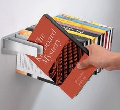 love this idea! its a floating books-book shelf!
