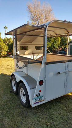 """See our internet site for even more details on """"bar cart decor"""". It is actually an excellent location to learn more. Coffee Carts, Coffee Truck, Coffee Shop, Catering Trailer, Food Trailer, Converted Horse Trailer, Coffee Trailer, Food Truck Business, Gold Bar Cart"""