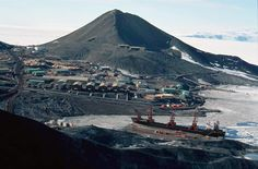McMurdo Station, Antartica. I didn't know you could actually go to Antarctica ... but now I want to!
