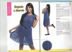vestido abacaxi com gráfico