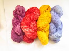 @AbuelitaYarns launching 4 fantastic new SEMI-SOLID colors! Share if you love these colors