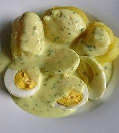 Eier in Senfsauce 1