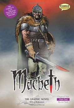 Download Macbeth the Graphic Novel: Plain Text ebook free by William Shakespeare in pdf/epub/mobi