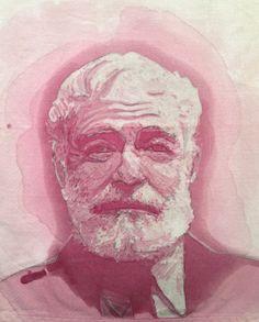 Le macchie di vino come arte: Amelia Fais Harnas Create Picture, Create Image, Food Sculpture, Sculptures, Black Crayon, Mosaic Portrait, Food Artists, Types Of Painting, Gold Ink