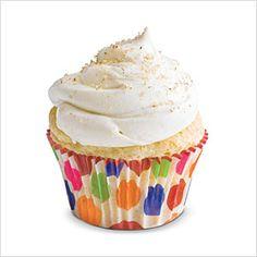 Eggnog Cupcakes Recipe    http://www.myrecipes.com/recipe/eggnog-cupcakes-10000001940930/