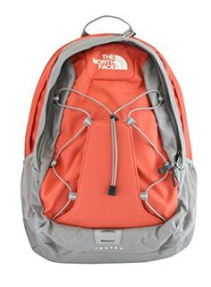 1e8e9b521300 The North Face womens Jester Laptop Backpack BOOK BAG Emberglow orange     You can find