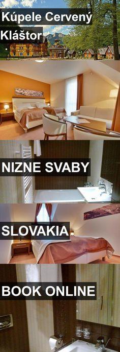 Hotel Kúpele Cervený Kláštor in Nizne Svaby, Slovakia. For more information, photos, reviews and best prices please follow the link. #Slovakia #NizneSvaby #travel #vacation #hotel