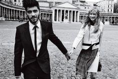 L'avventura - Dit is Gigi Hadid en Zayns romantische Napels getaway voor Vogue