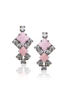 Shop Women's Tom Binns Earrings on Lyst. Track over 229 Tom Binns Earrings for stock and sale updates. Tom Binns, Fashion Accessories, Fashion Jewelry, We Wear, How To Wear, Mean Girls, Womens Toms, Pink Fashion, Costume Jewelry