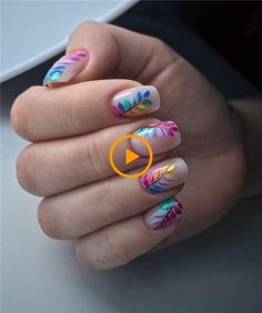 nails shape With 2020 spring coming, are you ready for a new manicure idea? Short nails have always been the most popular nail shape. We have collected 30 trend short nail art designs for Cute Acrylic Nails, Acrylic Nail Designs, Fun Nails, Nail Art Designs, Striped Nail Designs, Stylish Nails, Trendy Nails, Short Nails Art, Manicure E Pedicure