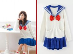 Soft Sailor Moon Pajamas For Sleepy Scouts