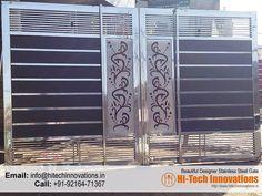 Beautiful Designer Steel Gate – 012FL