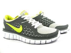 Our Favorite shoes for dance fitness....Nike Free Trainers.  Of course the gray/yellow combo is bomb!