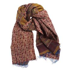Kantha Scarf XV, $45, now featured on Fab.