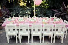 Strawberry Shortcake Party! Lunch in baskets served with strawberry milk; red and white gingham and green milk glass cake plate