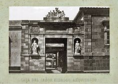 Grandes casas de México: Villa del arquitecto De la Hidalga en la calzada a Tlacopan.