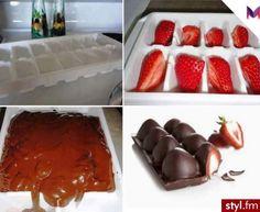 Pomysł na truskawki w czekoladzie - Porady - zrób to sam