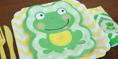 Froggy Frog Baby Shower Theme - The whole website has great products for this theme.