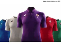 33bce0f8d Fiorentina and Le Coq Sportif revealed five new football shirts for the  season.