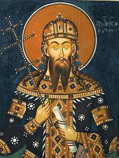 Стефан Урош V Немањић, познатији као Урош Нејаки (1337-1371). Stefan Uros V Nemanjic, known as Uros the Weak (1337-171). Ruled: 1355-1371