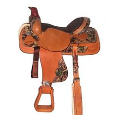 Heehee A Realtree Camo Roping Saddle!