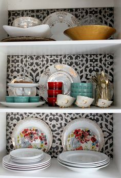 More Kitchen Stuff: Anthro Pretties and Christmas Plates