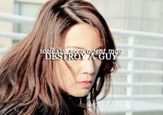 Well, I've seen Agent May destroy a guy || Melinda May, Skye || AOS 1x01 The Pilot || 250px × 177px || #animated #quotes