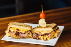 The Two Pork and Cheese from the Dallas Grilled Cheese Company is a must try