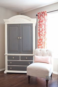 16 Ideas Painted Furniture Before And After Hutch Makeover Doors Refurbished Furniture, Paint Furniture, White Furniture, Repurposed Furniture, Furniture Projects, Bedroom Furniture, Bedroom Decor, Trendy Furniture, Primitive Furniture