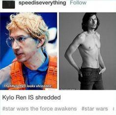 Star Wars Kylo Ren Adam Driver Tumblr