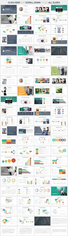 Business Powerpoint Template by SlidePro on Creative Market